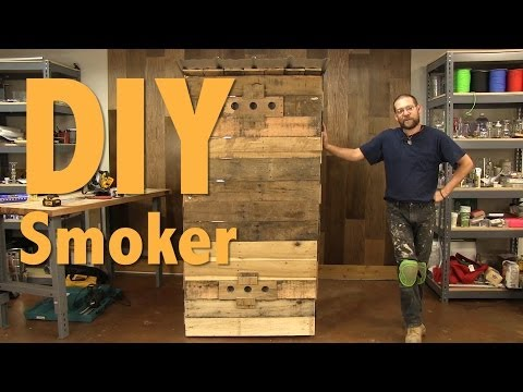 How to Build a Smokehouse With Pallets - FULL LENGTH VIDEO