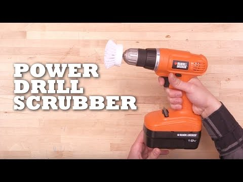 Power Drill Scubber