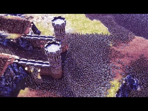 Ultimate EPIC BATTLE SIMULATOR - 20,000 VS 5,000 Castle