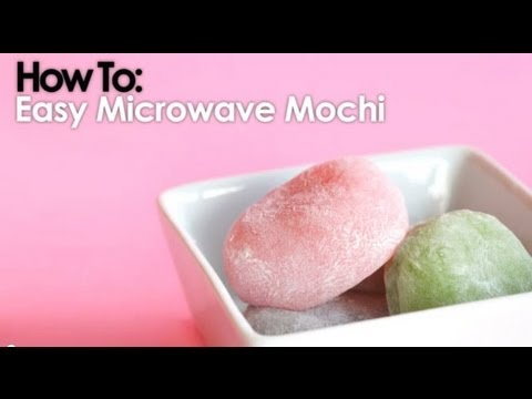 Microwave Mochi In Less Than 10 Minutes
