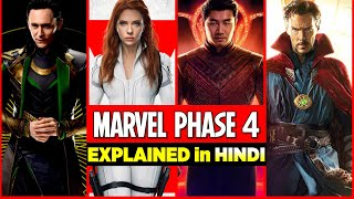 MARVEL PHASE-4 : All You Need to Know in Hindi   MCU Upcoming Movies \u0026 Web Series   The Outsiders
