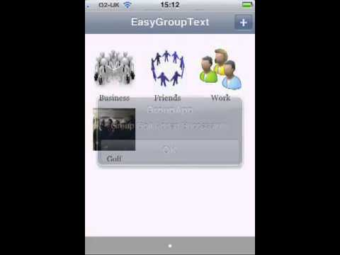 Easy Group Text  - Send Group Text On iPhone