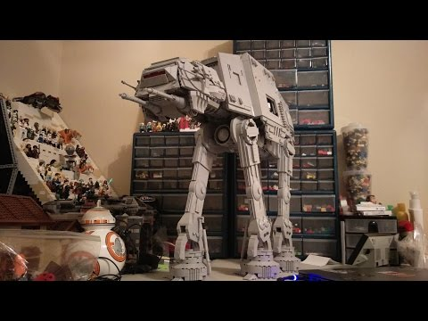 Ultimate Lego UCS AT-AT Walker (Minifig Scale + Full Interior) + Instructions for Sale!
