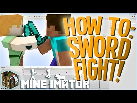Basics: How To Make A Skywars Fight Animation! | Mine-imator Tutorial