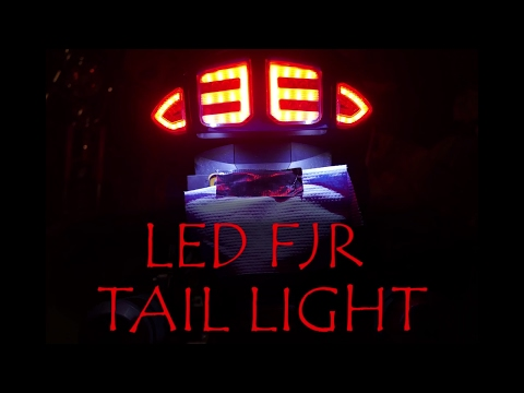 FJR1300 Project R  LED Integrated TailightUnit