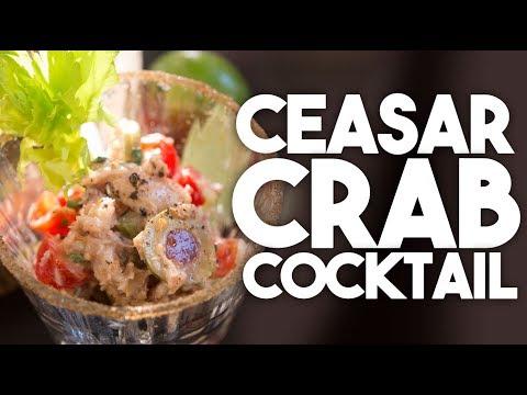 🍸 CEASAR CRAB Cocktail SALAD | Easy Weeknight Meals | Kravings