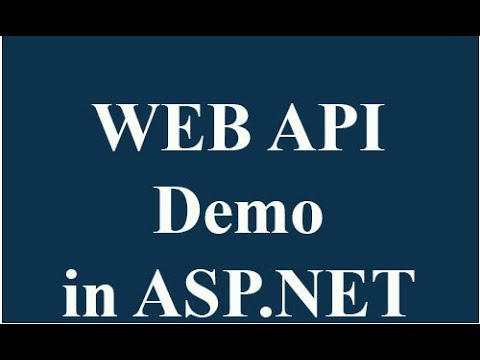 How to create web api and use in asp.net mvc