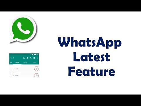 Latest Whatsapp Updated Features December 2017 Must Watch