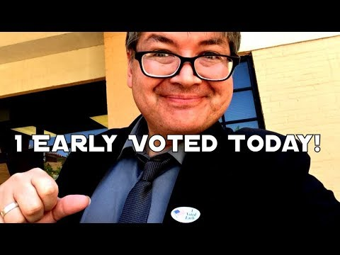 I Early Voted Today!!