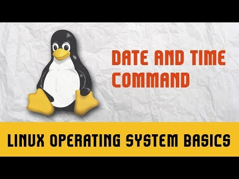 Linux Operating System | Commands  | Date And Time