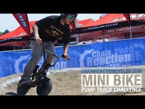 CRC Mini Pump Track at Sea Otter Classic