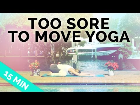 Easy Yoga Stretches for Sore Muscles (15-Min) - Yoga for When You're Sore
