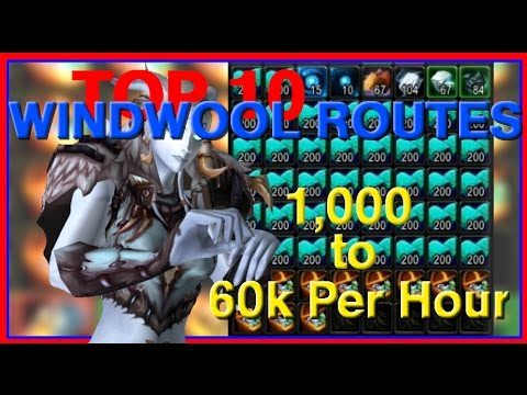 Top 10 Ways to Farm Windwool Cloth - 1k to 60k per hour (WoW Gold Guide)