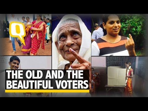 The Quint: Look Who Turned Up To Vote In The Kerala, Tamil Nadu Polls!