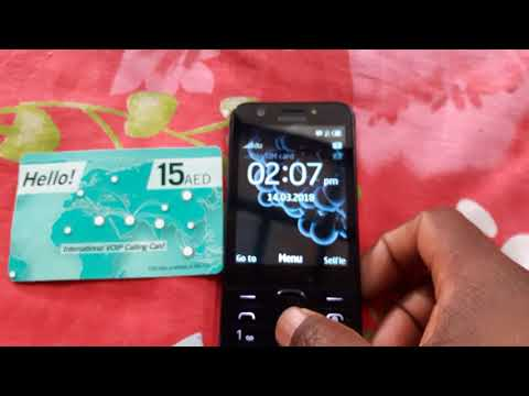 How to save hello card in Nokia phone