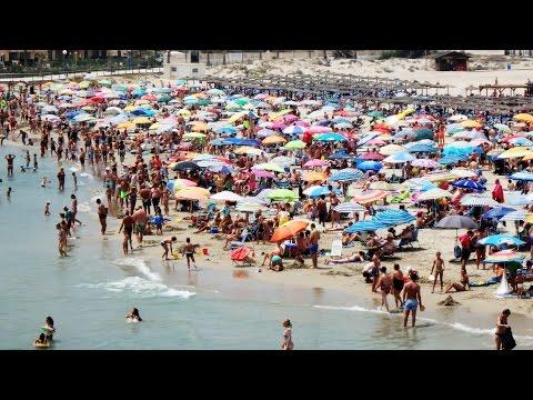 La Zenia Beach, Costa Blanca, Alicante, Spain