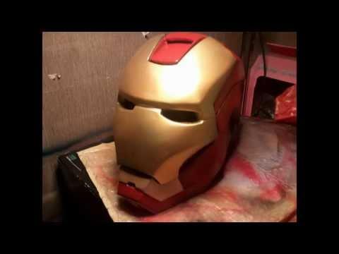Iron man helmet  Pepakura FILL & AIRBRUSH
