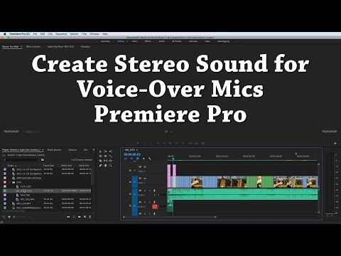 Create Stereo Voiceover in Premiere Pro