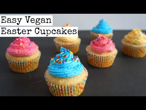 Vegan Easter Cupcakes | Quick and Easy