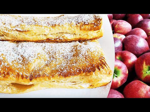 Quick Puff Pastry Apple Turnovers