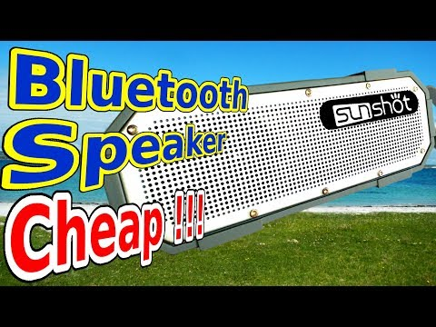 Sunshot Bluetooth speaker from amazon