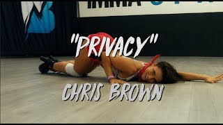 "Chris Brown - ""Privacy"" 