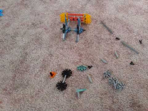 Knex car built in 29.5seconds