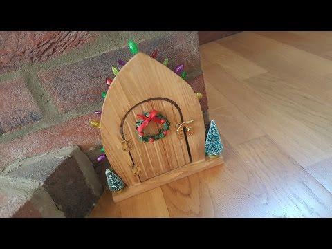 Magic elf door appeared. Is the elf on the shelf coming back?