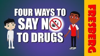 Learn how to say no to drugs! A video for kids during Red Ribbon Week (Elementary School).