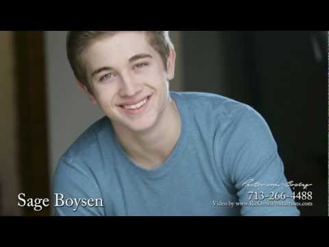 Sage Boysen is represented by Pastorini-Bosby Talent-a Texas top talent agency