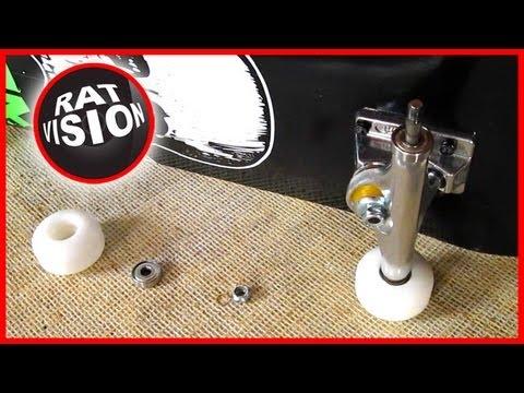 Remove and Insert Skateboard & Longboard Bearings