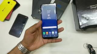 [Hindi,हिन्दी]  Galaxy S8 Mid Night Black Unboxing,Size Comparison (S8 vs S8 Plus, Which one to buy)