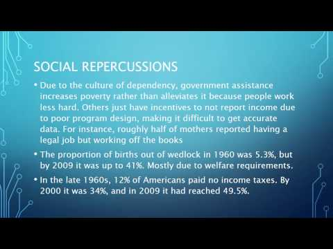 Dependence on government assistance programs