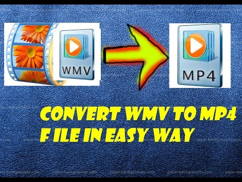 CONVERT WMV TO MP4 FILE FOR FREE IN EASY WAY 100% 2017 UPDATED