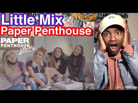 Little Mix Paper Penthouse Reaction