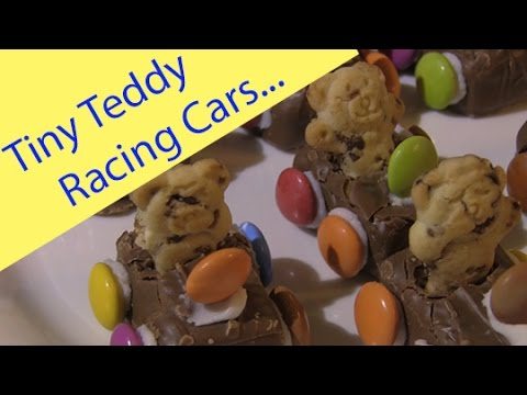How To Make Tiny Teddy Racing Cars
