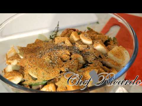 How Most Jamaicans Marinate Their Curry Goat Before The Day Of Christmas | Recipes By Chef Ricardo