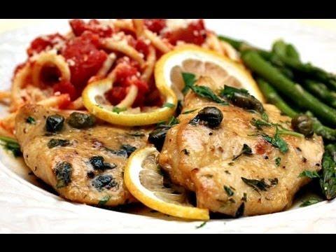 *DELICIOUS* Chicken Piccata Recipe - Juicy Chicken Breasts in Lemon Caper Piccata Sauce