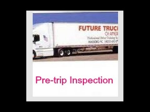 FTA Pretrip inspection Future Truckers of America
