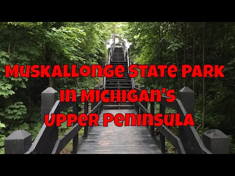 Muskallonge Lake State Park - Upper Peninsula of Lake Michigan