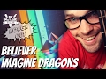 Believer Imagine Dragons Guitar Lesson - Easy, Beginner Chords and Picking Part