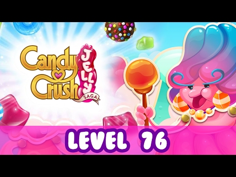 Candy Crush Jelly Level 76