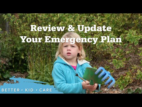 Review & Update Your Emergency Plan