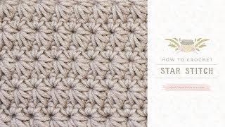 Uitleg Sterrensteek Stersteek Star Stitch Haken Haakinformatie