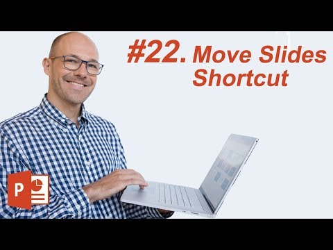 #22: Move Slides Shortcut (Microsoft PowerPoint Shortcuts)