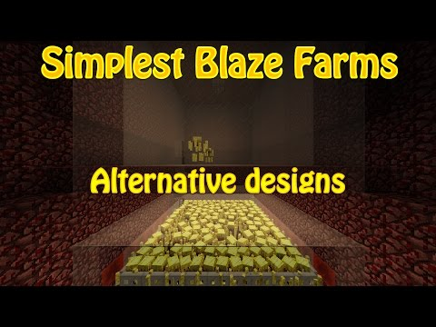 Simple AI Blaze Farms - Alternative Designs