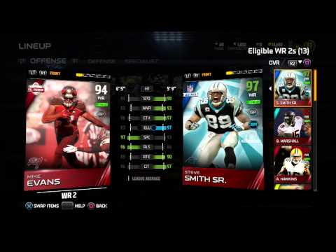 Madden 15 | New Lineup! Atwater, Steve Smith, Deangelo Hall