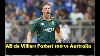 AB de Villiers Fastest Batting vs Australia | Glenn McGrath,Shane Watson,