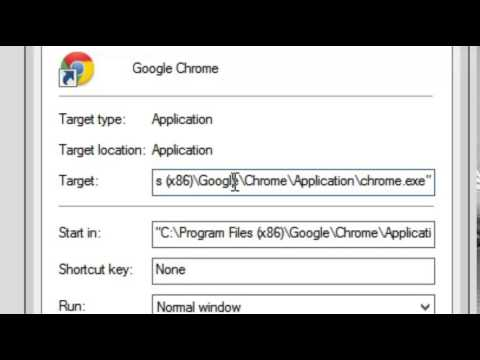 How to Remove command line switch from Chrome Browser