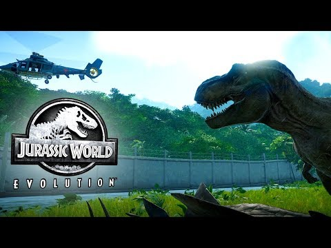 Jurassic World Evolution Gameplay (No Commentary)